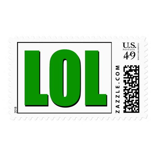 LOL green Stamps