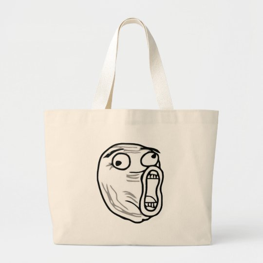 lol-guy large large tote bag