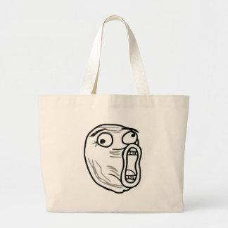 lol-guy large tote bag