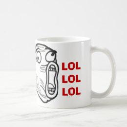 LOL Guy Rage face Comics Internet meme Mugs