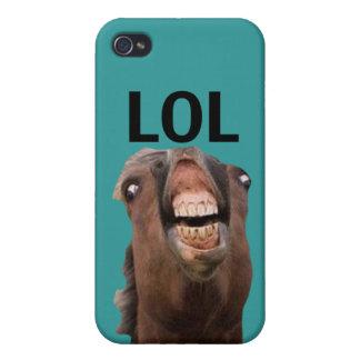 LOL Horse iPhone 4 Case (Matte)