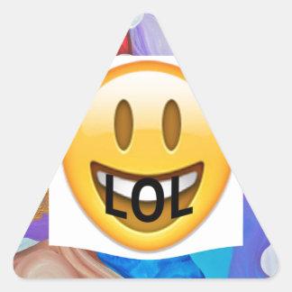 LOL Key Triangle Sticker