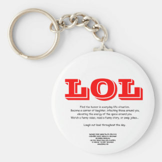 LOL Keychain