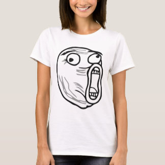 LOL Laugh Out Loud Rage Face Meme T-Shirt