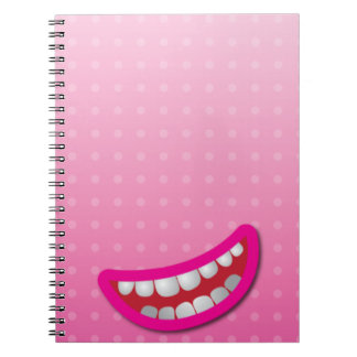 LOL laughing mouth with teeth cute! Note Book