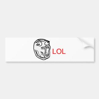 LOL - meme Bumper Sticker