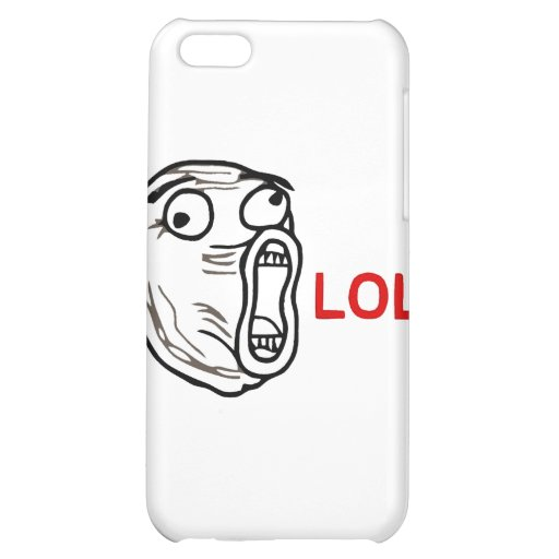 LOL Meme Cover For iPhone 5C