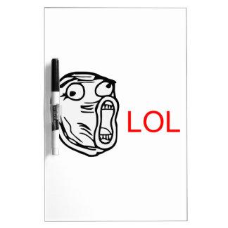 LOL - meme Dry Erase Board