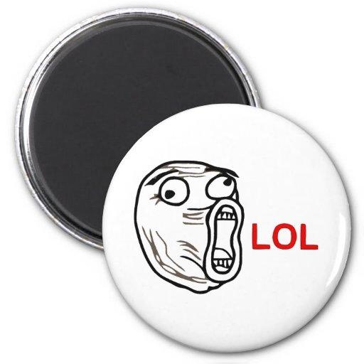 LOL Meme Fridge Magnet