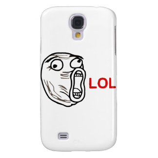 LOL Meme Samsung Galaxy S4 Cover