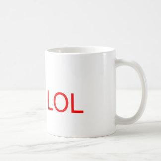 LOL - meme Taza De Café