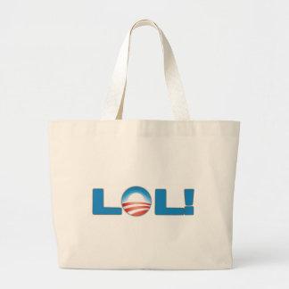 LOL Obama anti Bolsas Lienzo