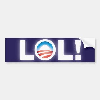 LOL Obama Bumper Sticker