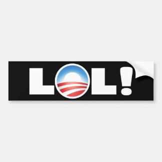 LOL Obama Car Bumper Sticker