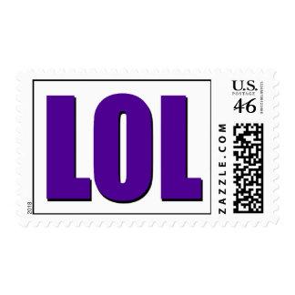 LOL purple Postage