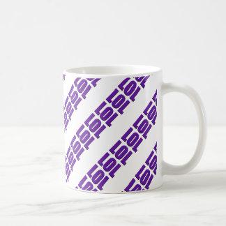 LOL purple stripe design Coffee Mug