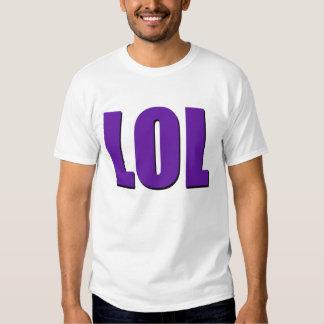 LOL purple T-shirt