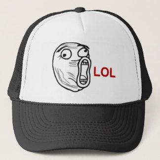 LOL Rage Face Trucker Hat