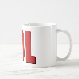 LOL red Classic White Coffee Mug