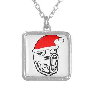 LOL Santa - xmas internet meme Pendant