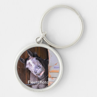 LOL Silver-Colored ROUND KEYCHAIN