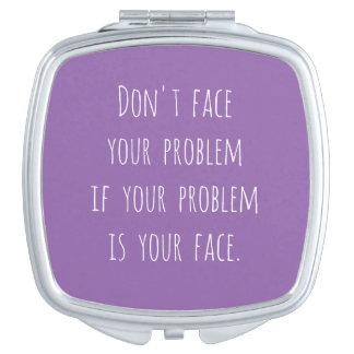 Lol Square Compact Mirror