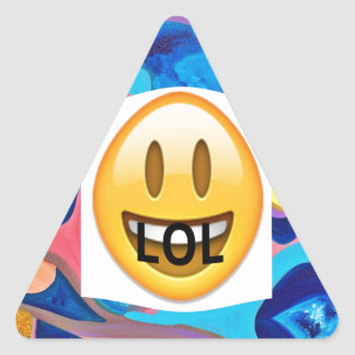 LOL Sun Triangle Sticker