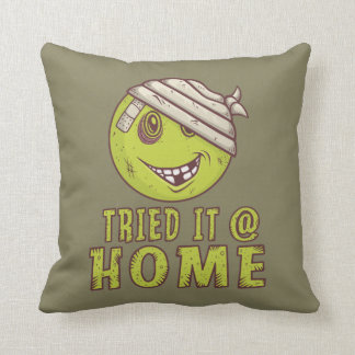 LOL Throw Pillow: Tried It At Home Throw Pillow