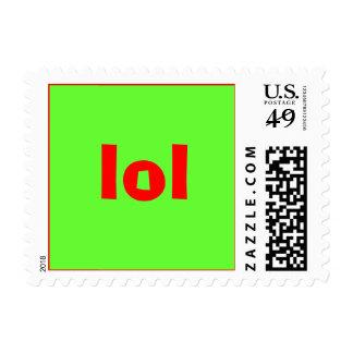 lol timbres postales