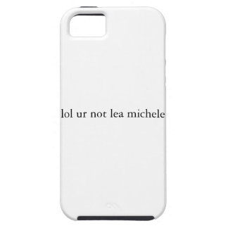lol ur not lea michele iPhone Case