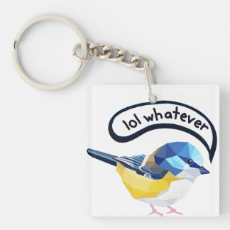 Lol Whatever Keychain