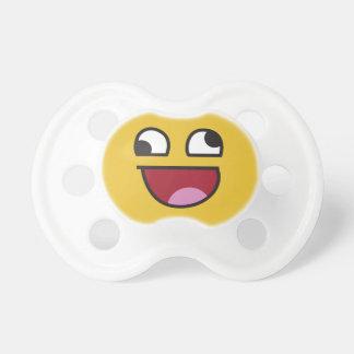 lol. wonky eyes emoji pacifier
