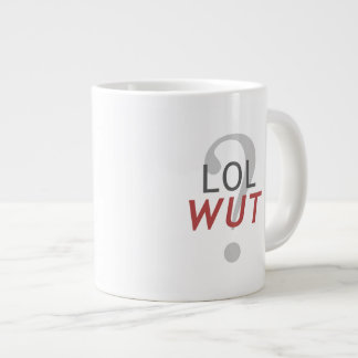 LOL WUT? - For the Indescribable 20 Oz Large Ceramic Coffee Mug