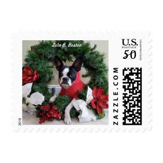Lola B. Boston Wreath Stamps