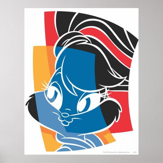 Lola Bunny Expressive 4 Poster