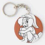 Lola Bunny Flirty Keychain