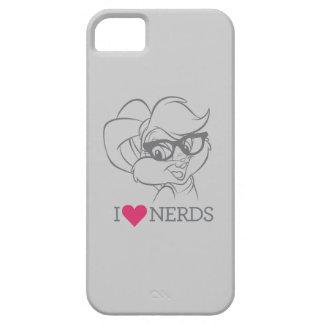Lola Bunny - I Heart Nerds 2 iPhone 5 Cases