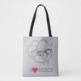 Lola Bunny - I Heart Nerds 2 Tote Bag