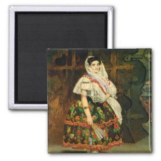 Lola de Valence 1862 Imán De Nevera