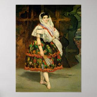 Lola de Valence, 1862 Poster