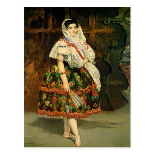 Lola de Valence, 1862 Tarjetas Postales
