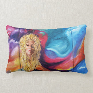 Lola Designer Pillows with beautiful painting