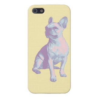 Lola el dogo francés iPhone 5 cárcasa