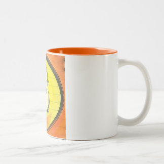 Lola Meditates Watercolor Enso Coffee Mug