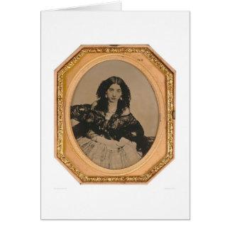 Lola Montez (1818-1861).  (40015) Tarjeta De Felicitación