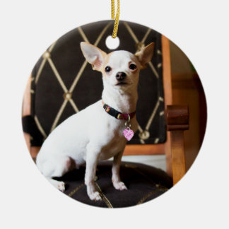 Lola Oh Yeah Chihuahua Ornament