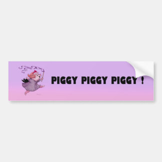 LOLA PIGGY STICKER BUMPER