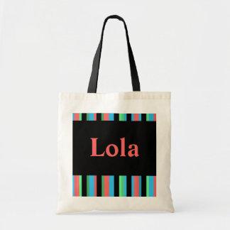 Lola Pretty Striped Tote Bag