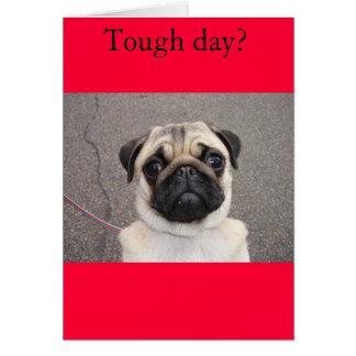 Lola siente su dolor tarjeta de felicitación