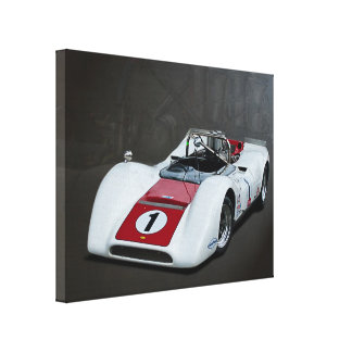 Lola T163 Wrapped Canvas